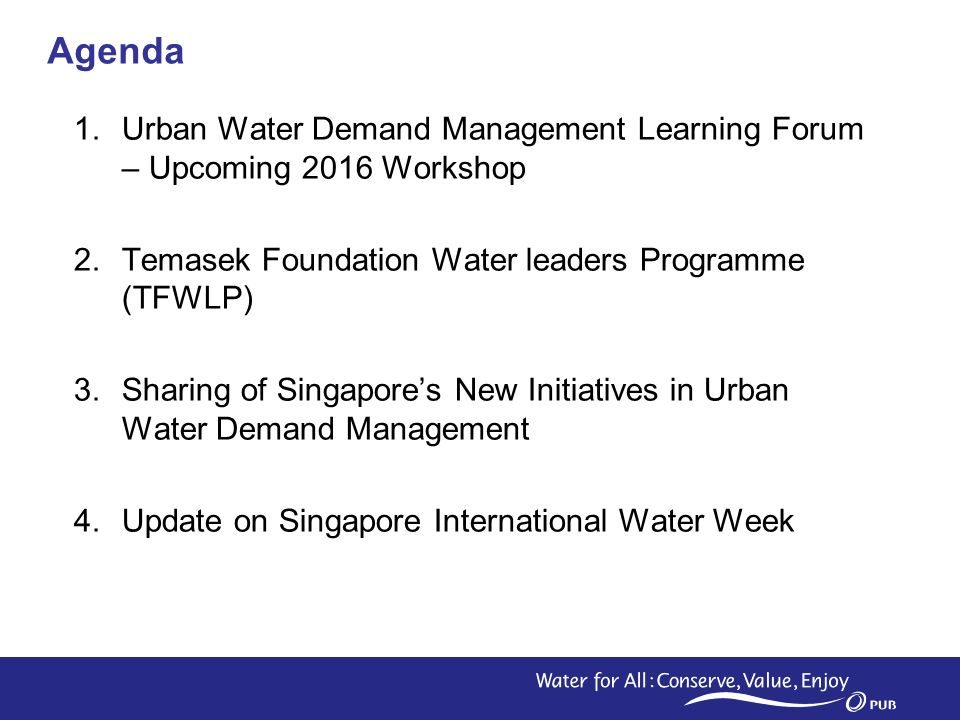 ASEAN Working Group Water Resources Management - ppt video