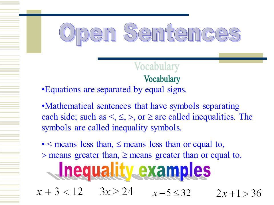 Open Sentences Ppt Video Online Download