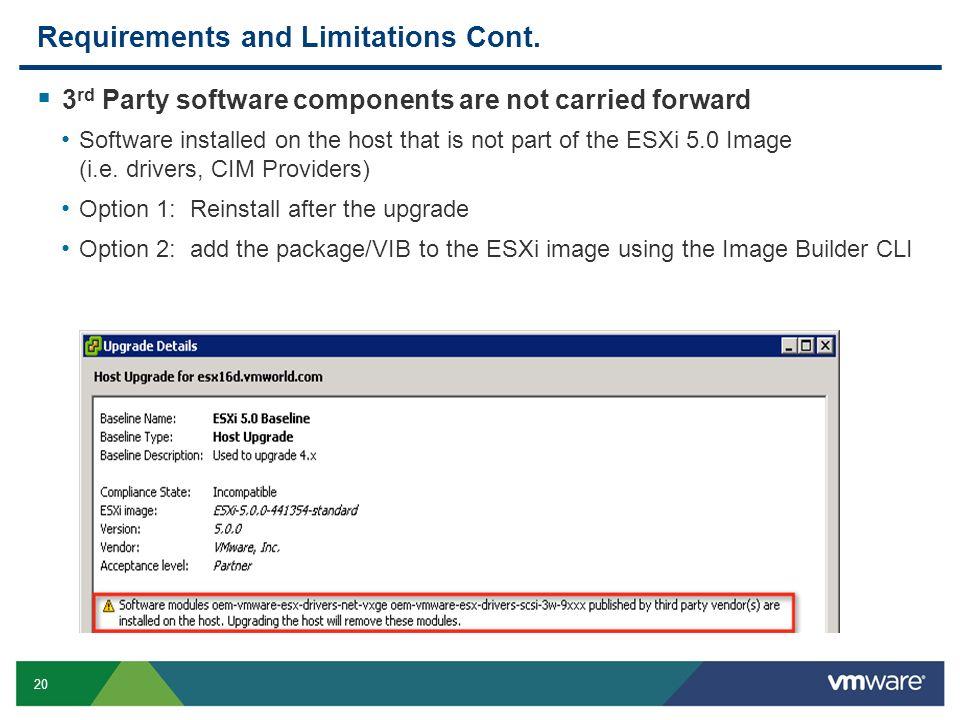 VSP3305 Upgrading to VMware ESXi ppt download