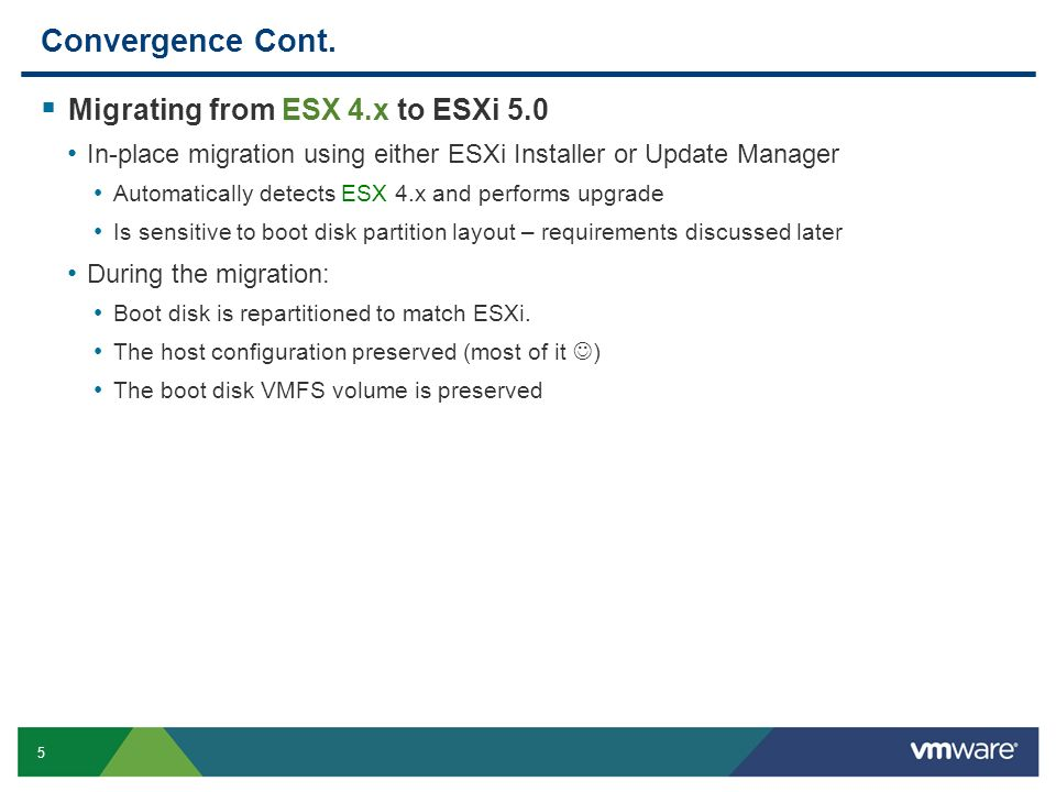 VSP3305 Upgrading to VMware ESXi ppt download
