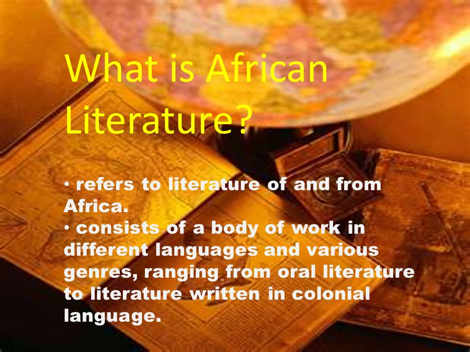 What is African Literature