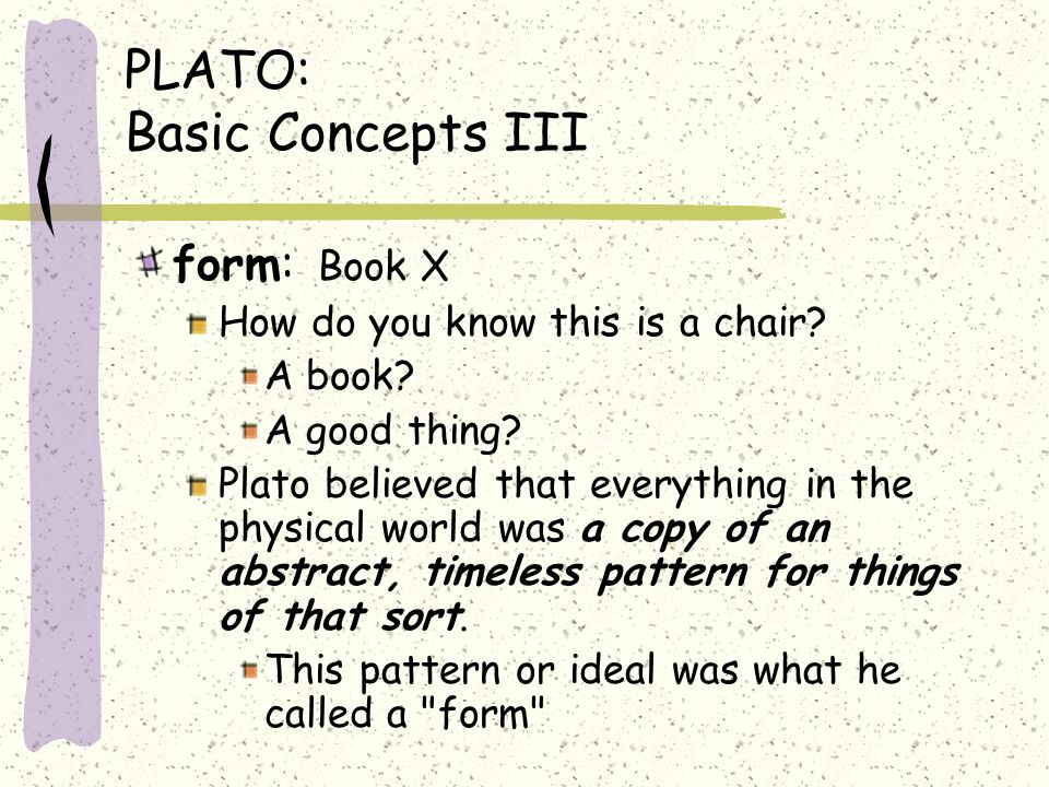 plato basic concepts i ppt download