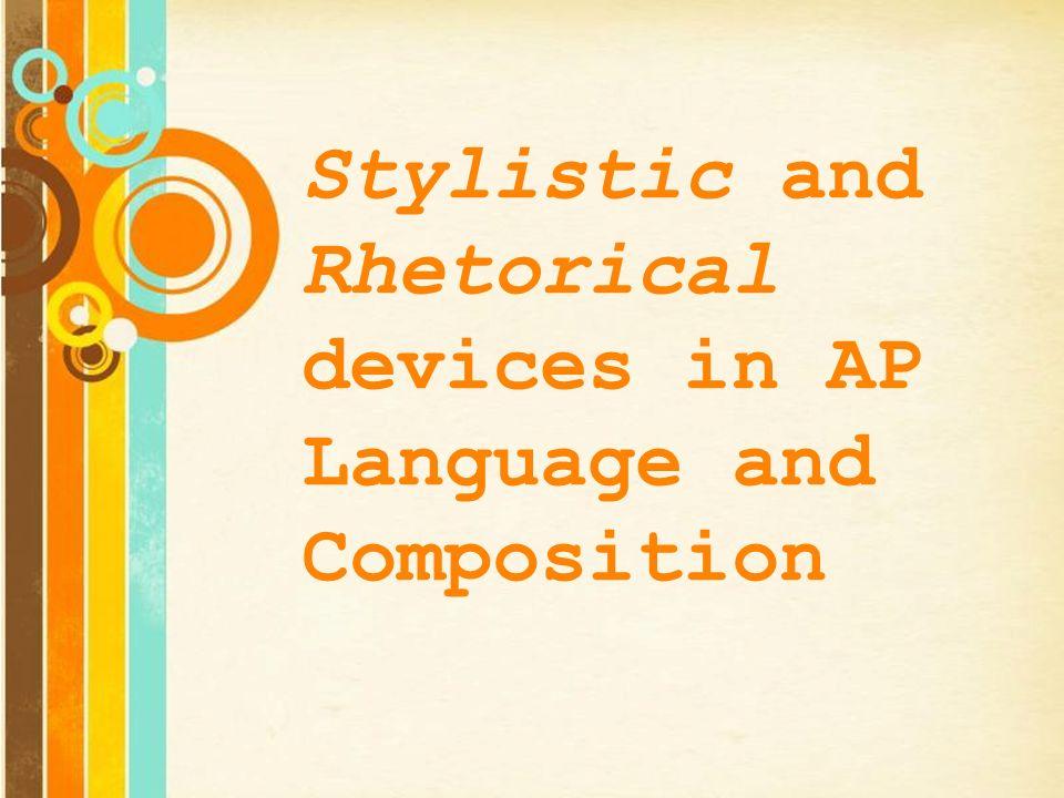 ap rhetorical devices