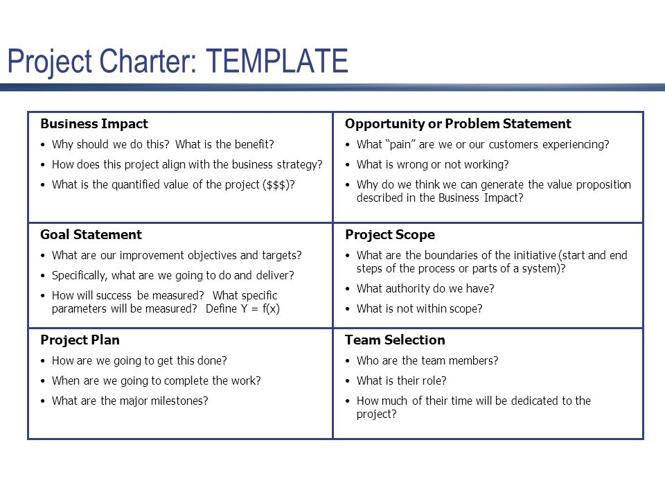 Project charter iab the next great idea marketing the ie project charter template accmission Gallery