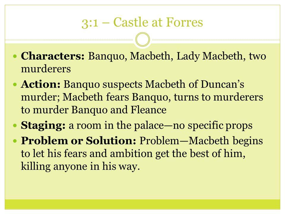 Macbeth Act 3 scene Summaries  - ppt video online download