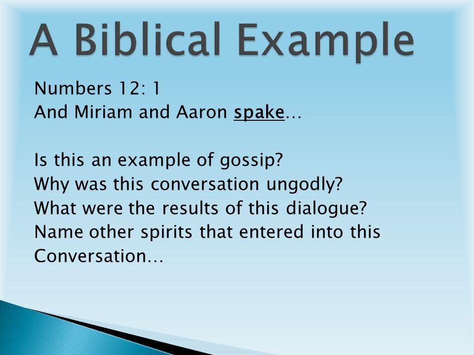 Gossip vs  Gospel The Power of The Tongue! Bible Study