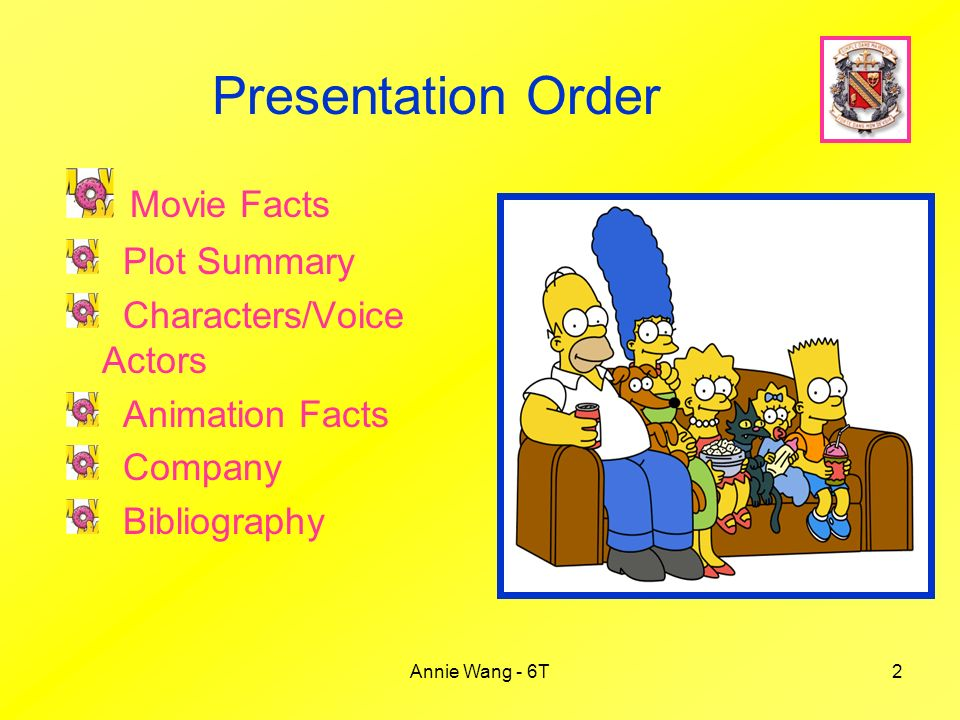 The Simpsons Movie Annie Wang 6t Ppt Video Online Download