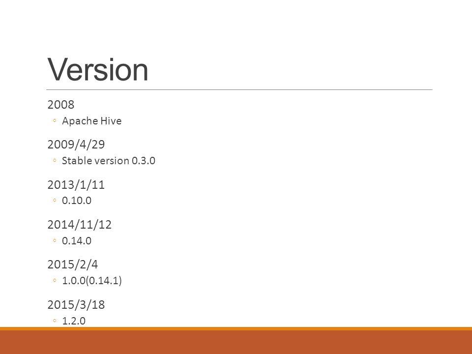 Hive – SQL on top of Hadoop - ppt download