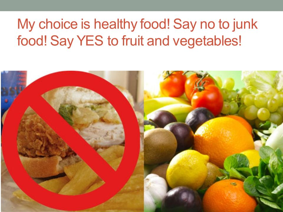 Healthy food or Junk Food? - ppt download