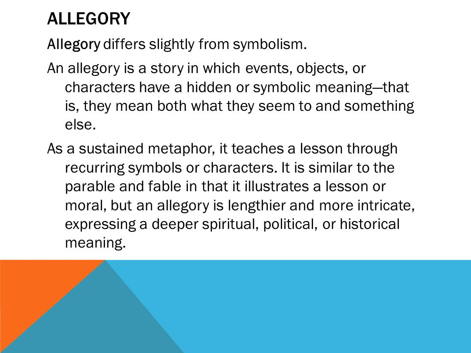 allegory in the odyssey