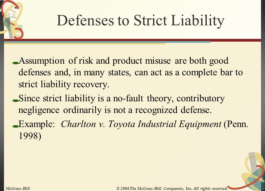 16 Product Liability Chapter Key Points Ppt Video Online Download