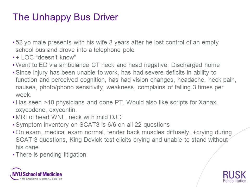 Getting Ahead of Post- Concussive Syndrome - ppt download