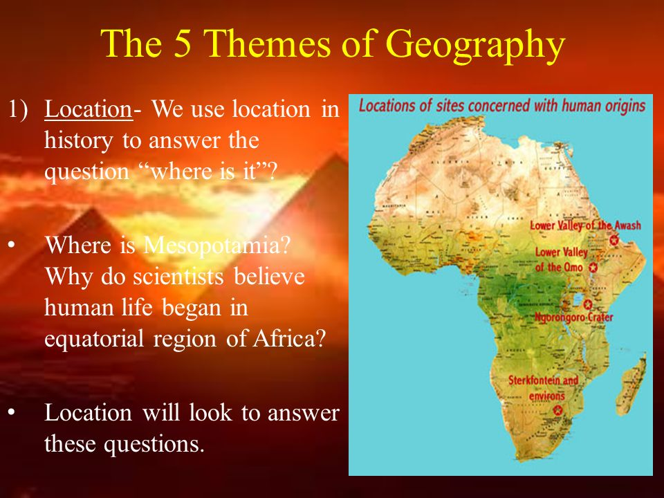 The Origins Of History Geography Of The Prehistoric World Ppt