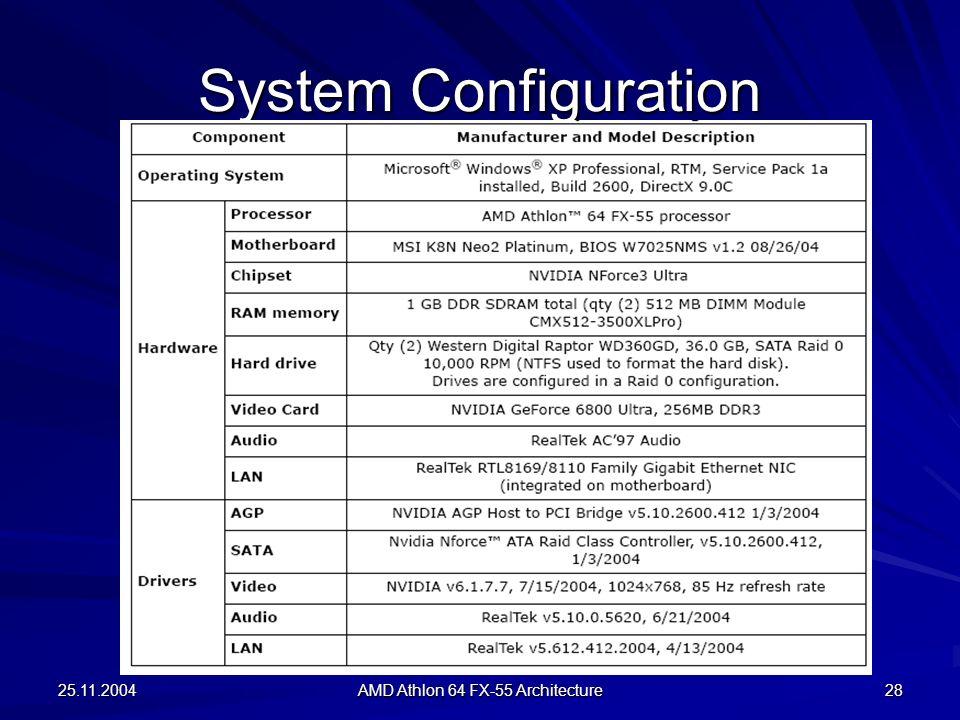 AMD Athlon 64 FX-55 PROCESSOR ARCHITECTURE - ppt video