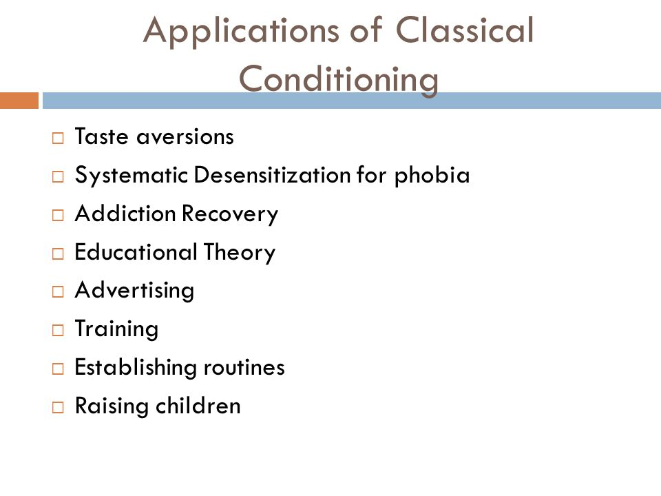 what is classical conditioning theory