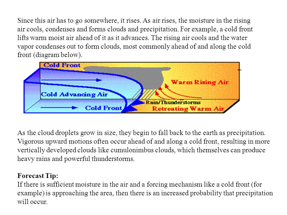 Weather Forecasting Guide Ppt Video Online Download