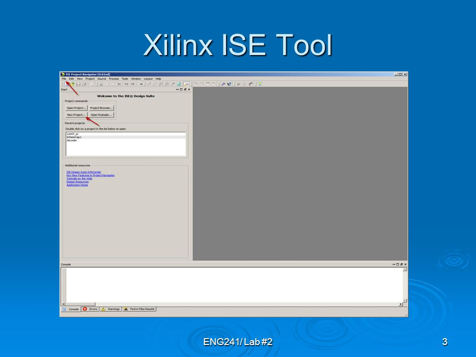 Xilinx ise webpack schematic tutorial southern polytechnic state.