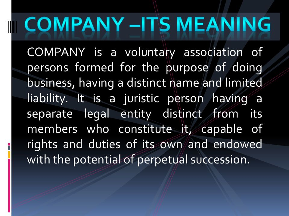 Introduction to company ,types - ppt video online download
