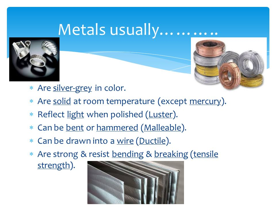 Physical Properties of…… - ppt video online download