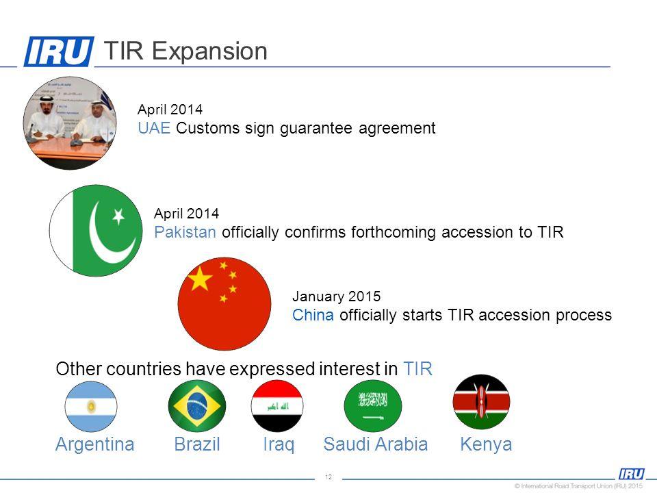 Tir The Global Transit System Ppt Video Online Download