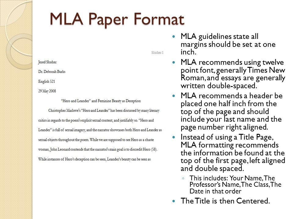 mla an overview mla stands for modern language association ppt