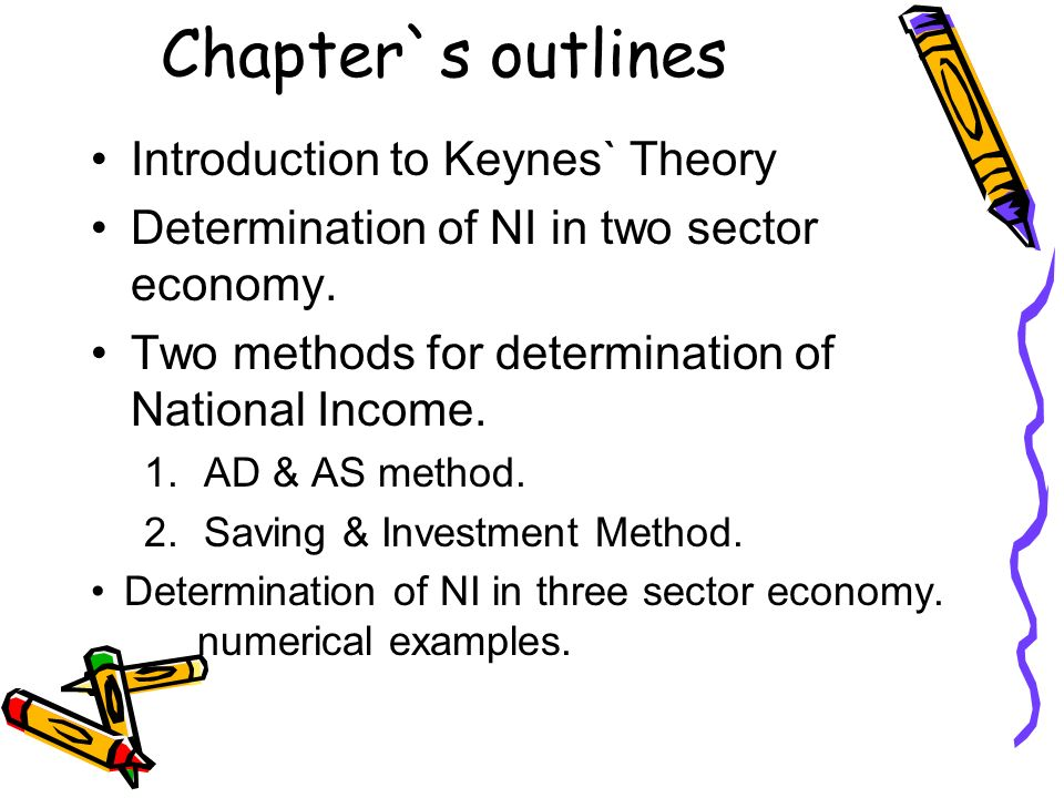 keynes theory of employment and income