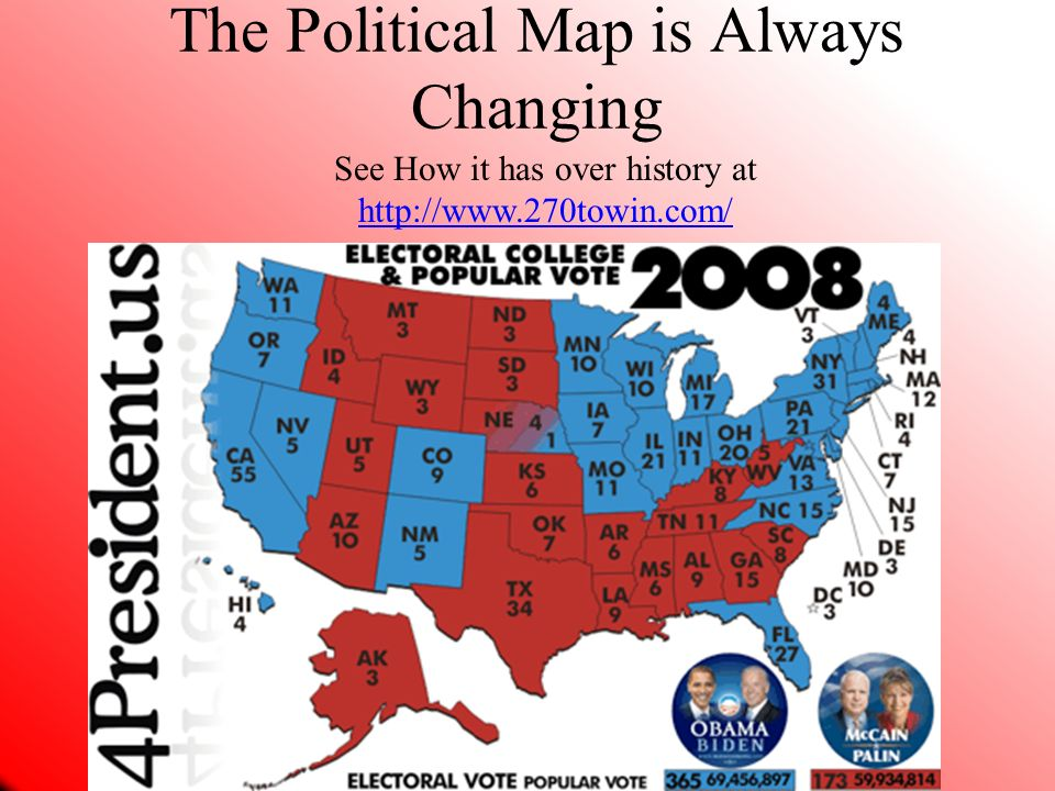 The Political Map is Always Changing