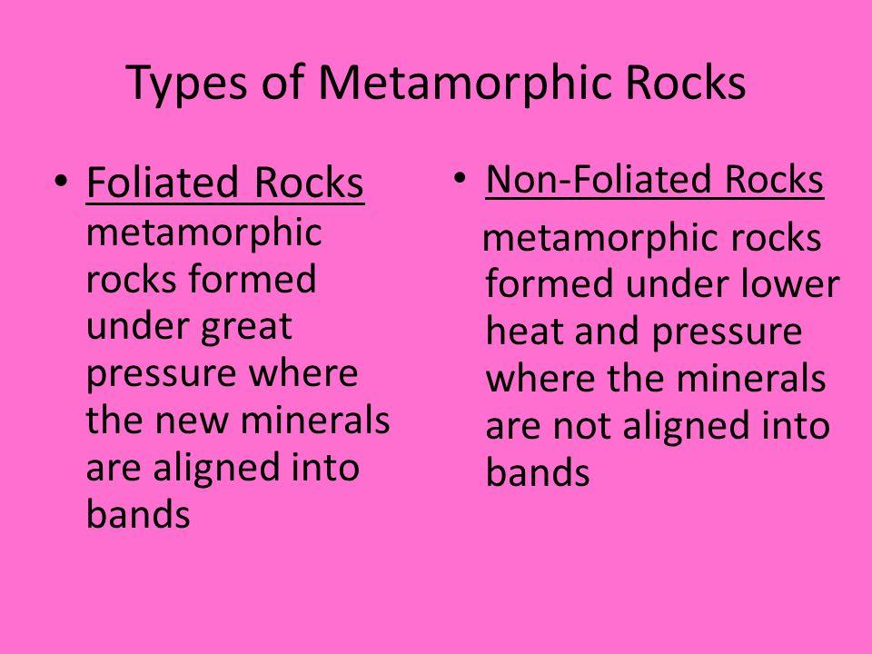 Metamorphic Rock Ppt Download