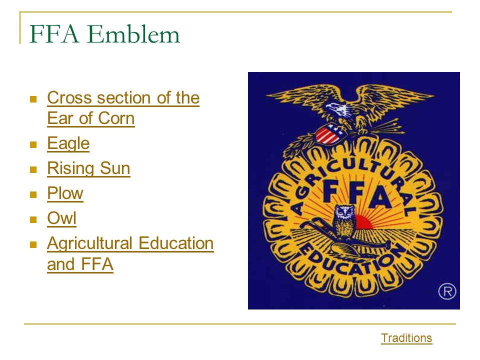 Ffa Traditions Ppt Video Online Download