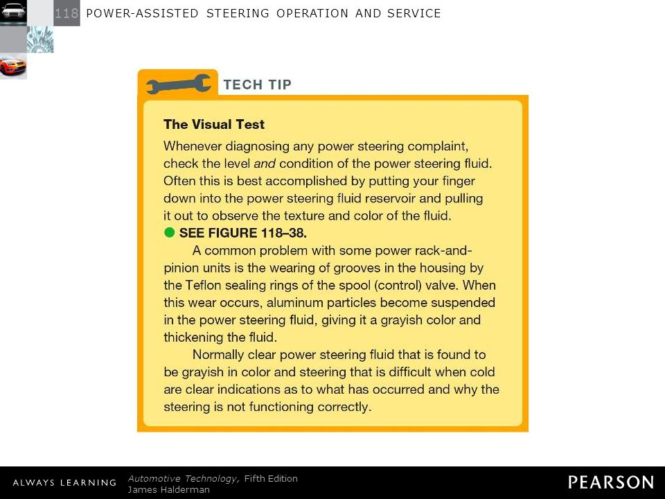 ELECTRIC AND HYDRAULIC POWER STEERING SYSTEMS - ppt download
