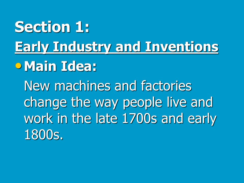 National and regional growth 1800 ppt download section 1 early industry and inventions main idea publicscrutiny Choice Image