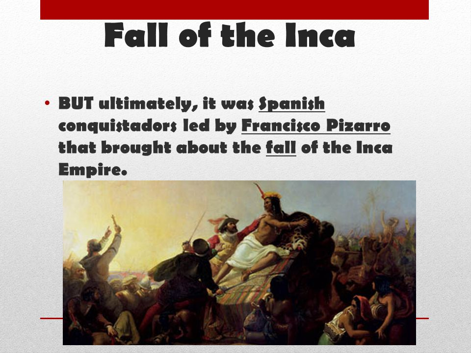 was the colonization of the incan empire a good thing essay The effect the spanish had on the aztec empire is a mixed lot historians often disagree on the impact, both positive and negative, that the spanish had on aztec civilization under the leadership of hernan cortes in 1521, the aztec empire was destroyed the aztecs were a primitive people who.