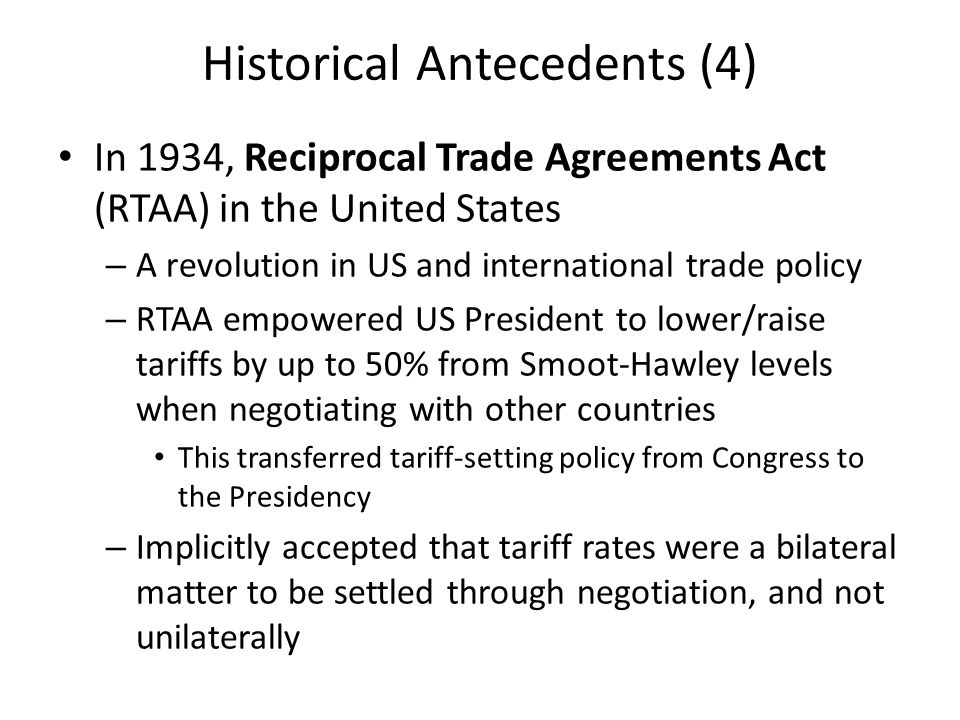 The Evolution Of The Global Trade Regime Ppt Video Online Download