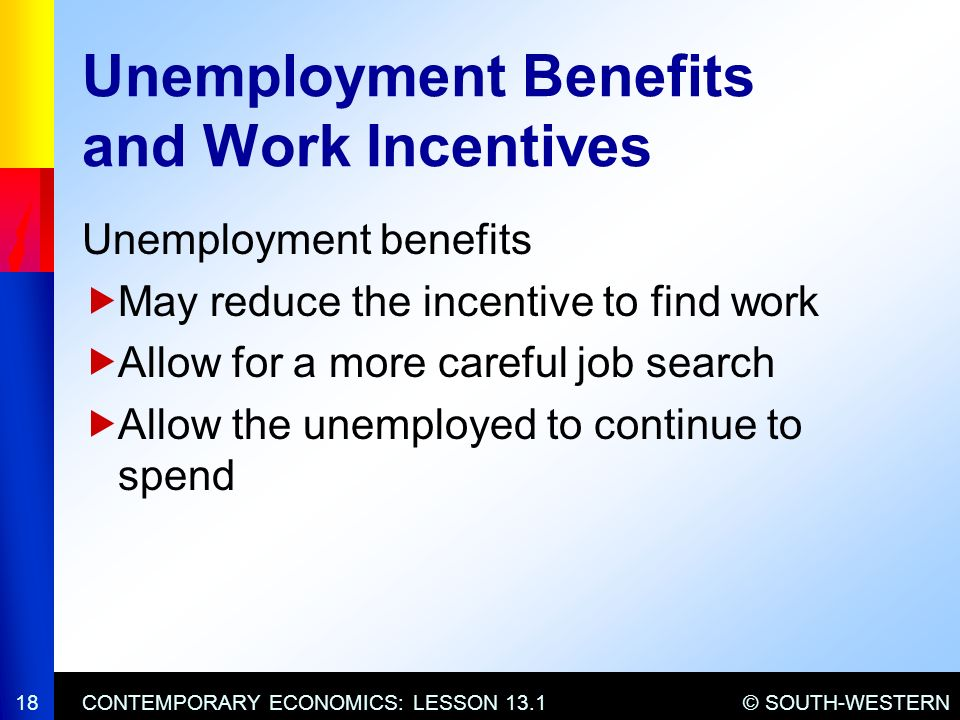 Chapter 13 Economic Challenges Ppt Video Online Download. Unemployment Benefits And Work Incentives. Worksheet. 13 1 Unemployment Worksheet At Clickcart.co