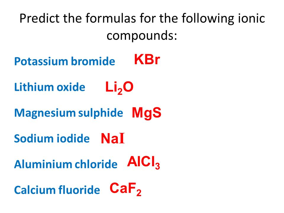 Formation Of Compounds Ppt Video Online Download
