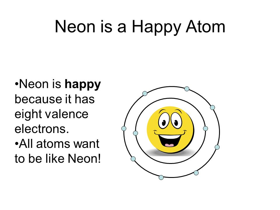 Nobel gas envy ppt video online download 2 neon is a happy atom ccuart Gallery