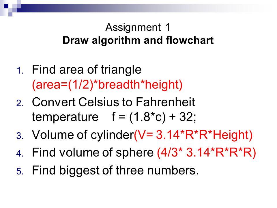 Algorithm & Flow Charts - ppt video online download
