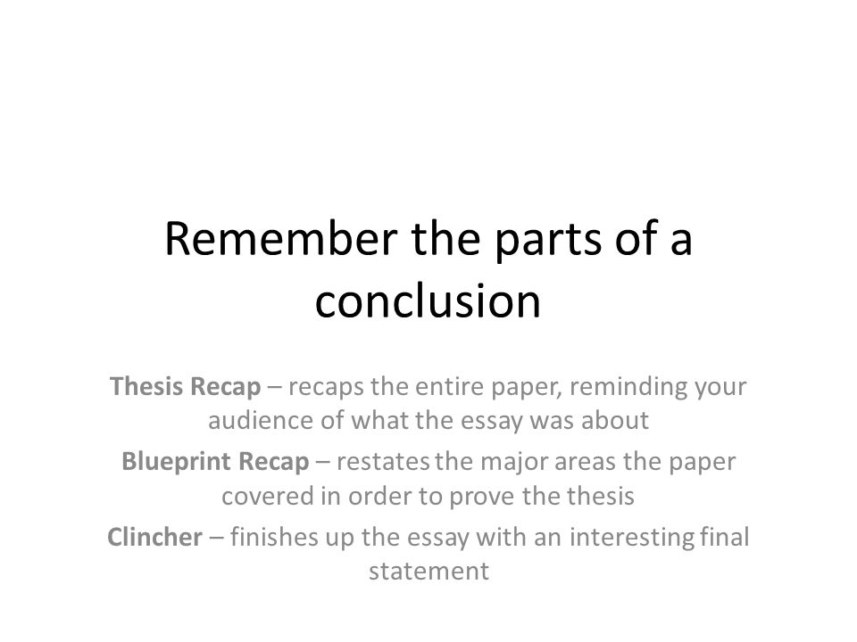 Tips for writing conclusions ppt video online download 2 remember malvernweather Gallery
