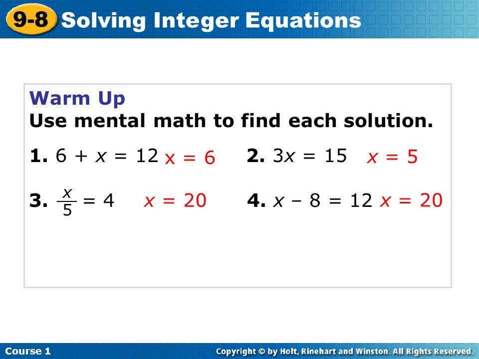 Chapter 9 Quiz Worksheets Ppt Video Online Download. Solving Integer Equations. Worksheet. Integers Worksheet Quiz At Mspartners.co