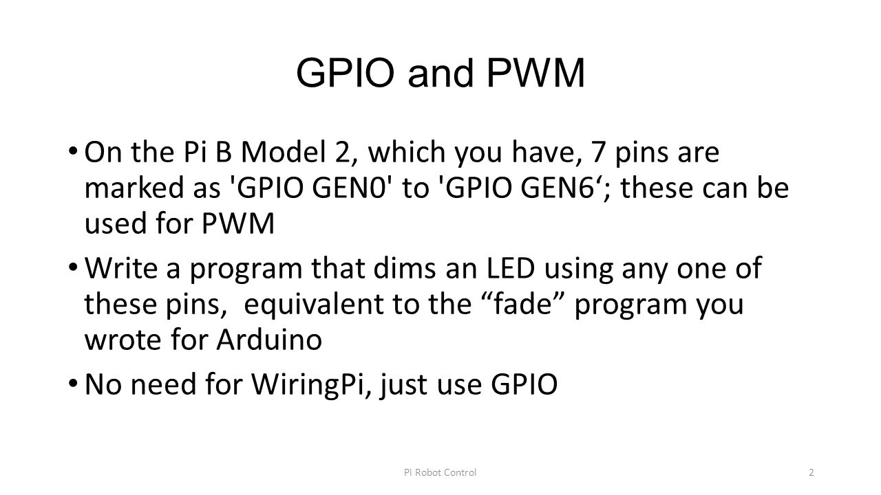Tremendous Embedded Programming And Robotics Ppt Download Wiring 101 Akebwellnesstrialsorg