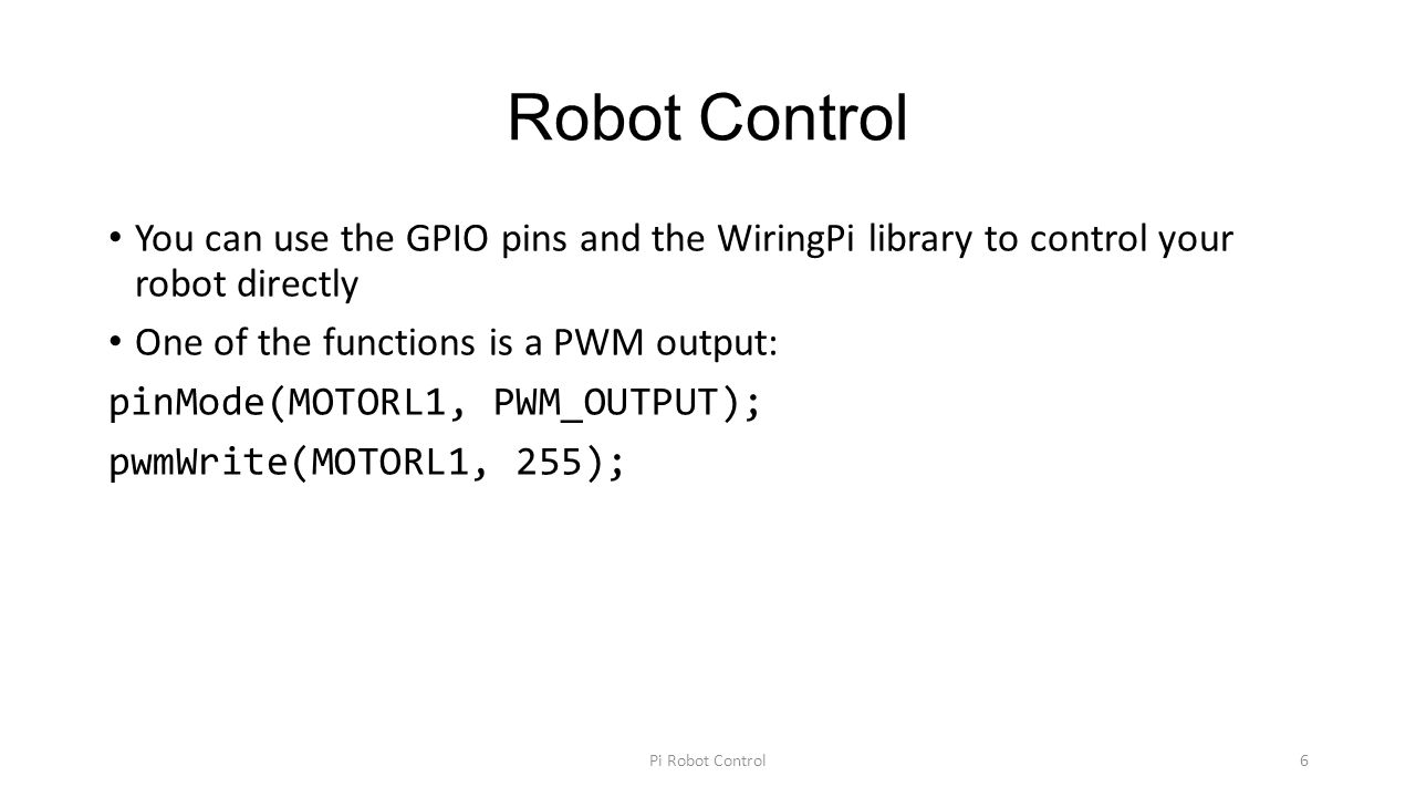 Magnificent Embedded Programming And Robotics Ppt Download Wiring Cloud Nuvitbieswglorg