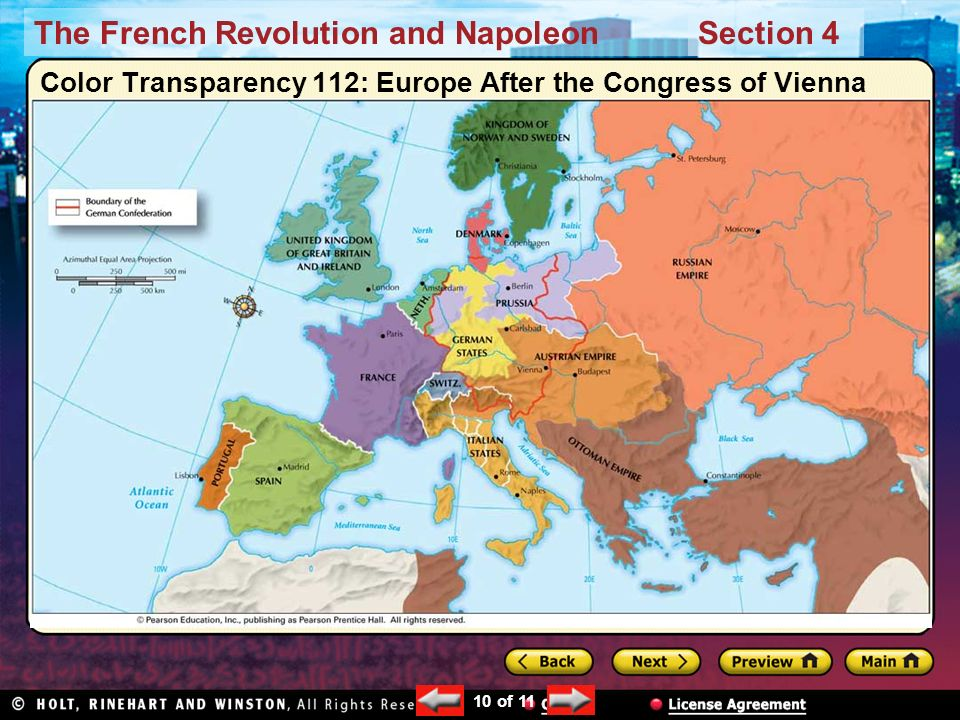 The Age Of Napoleon Preview Main Idea Reading Focus Ppt Download