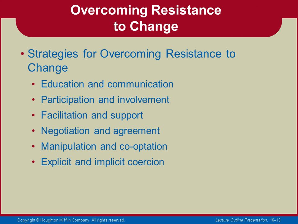 overcome inhibitors to change From mental models to transformation: overcoming inhibitors to change  from mental models to transformation: overcoming inhibitors to change  for developing a portfolio of mental models and.
