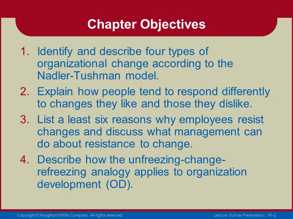 Change, Conflict, and Negotiation - ppt video online download