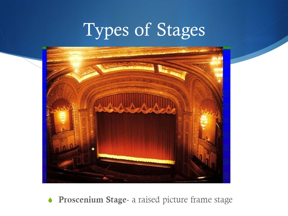 Stage Types Acting Areas Stage Directions - ppt video online download