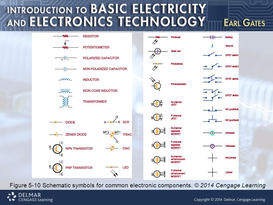 Symbols 7 9 Electronic Component Schematic Symbols There Are Many