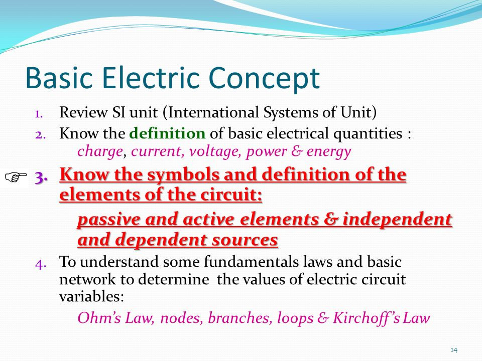 Circuit Elements and Variables - ppt video online download