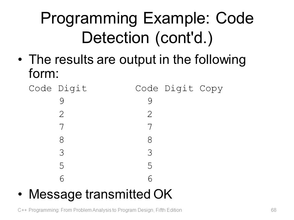 C Programming From Problem Analysis To Program Design Fifth