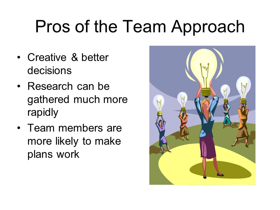 team approach to problem solving