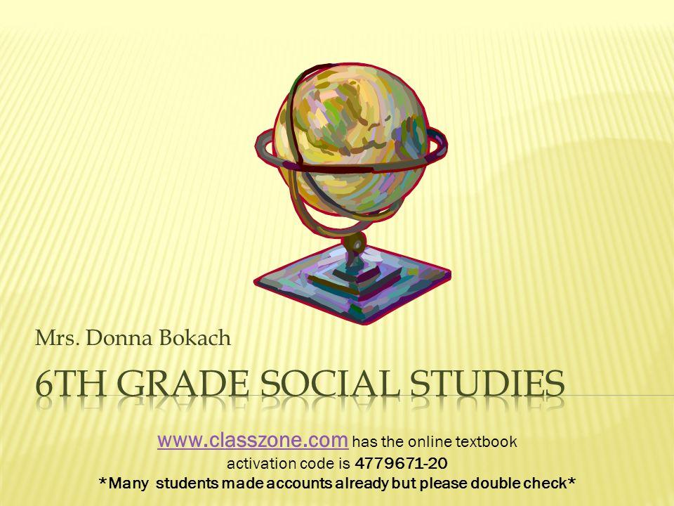 6th grade Social studies - ppt download